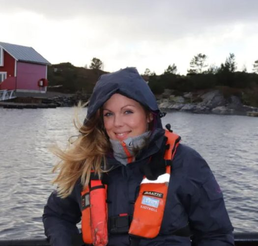Linn Therese Skår Hosteland women in aquaculture