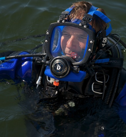 Commercial Diver Mike Fletcher