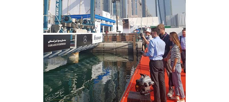 dubai international boat show underwater drone outdoor