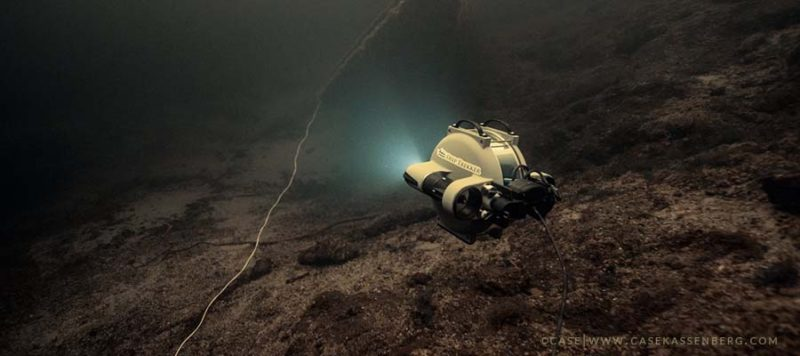 ghost gear fishing deep trekker rov shipwreck