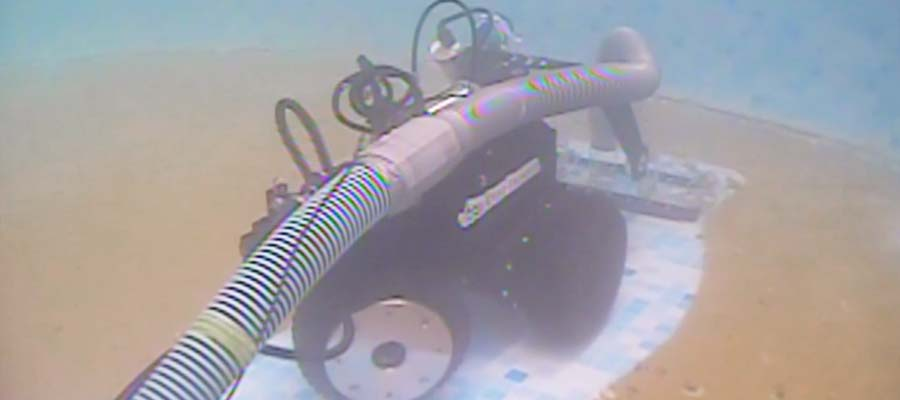 tank cleaning robot dt640 utility crawler