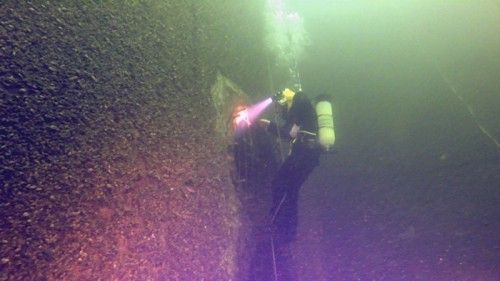 Commercial salvage Diving