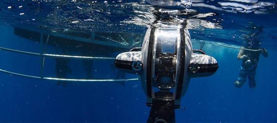 deep trekker underwater drone