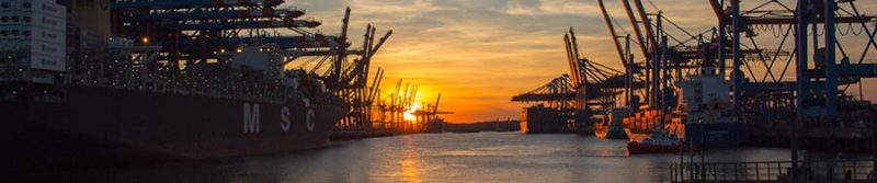 shipping-yard-vessel-inspection-sunset