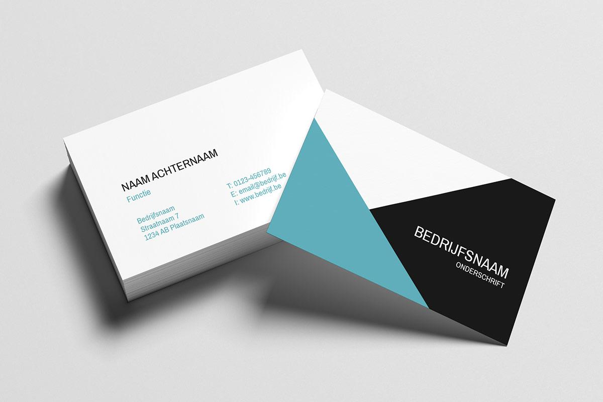ca009830eb3 10 gratis templates voor je visitekaartjes | Printdeal.be