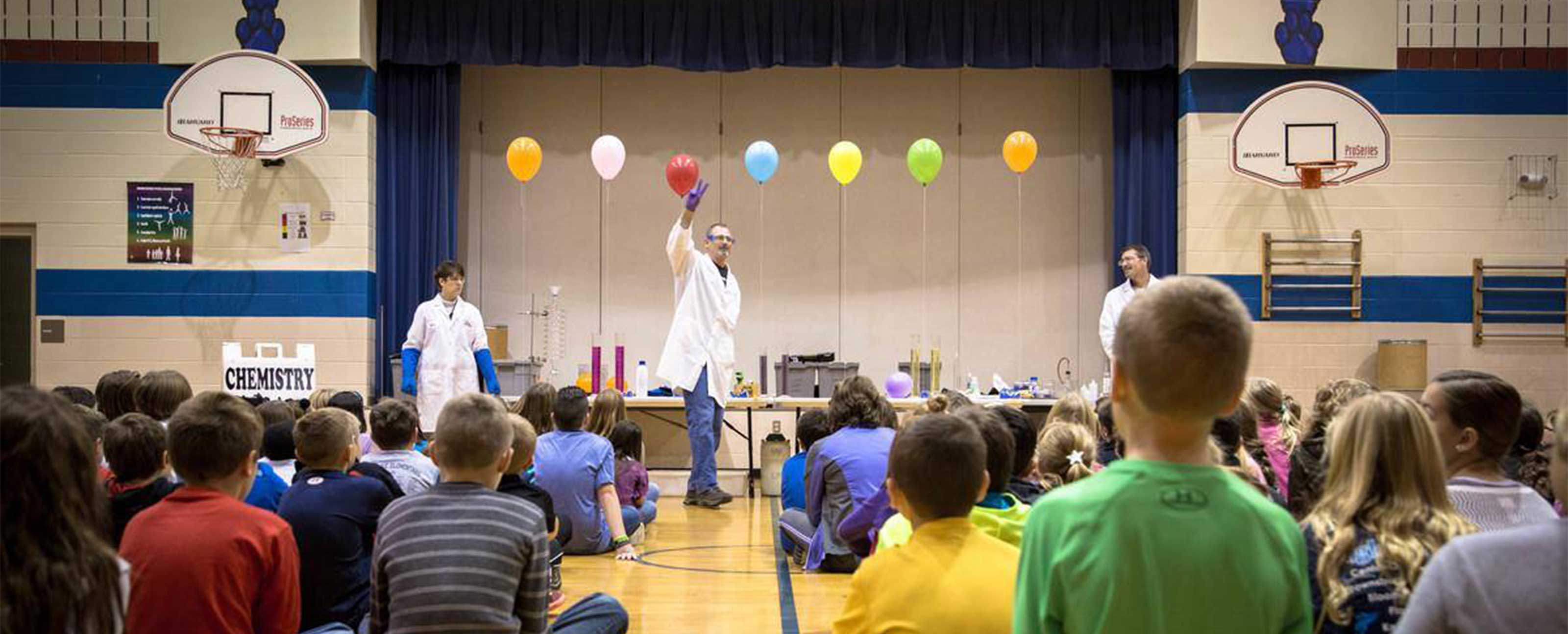 chemistry is a blast event photo from facebook