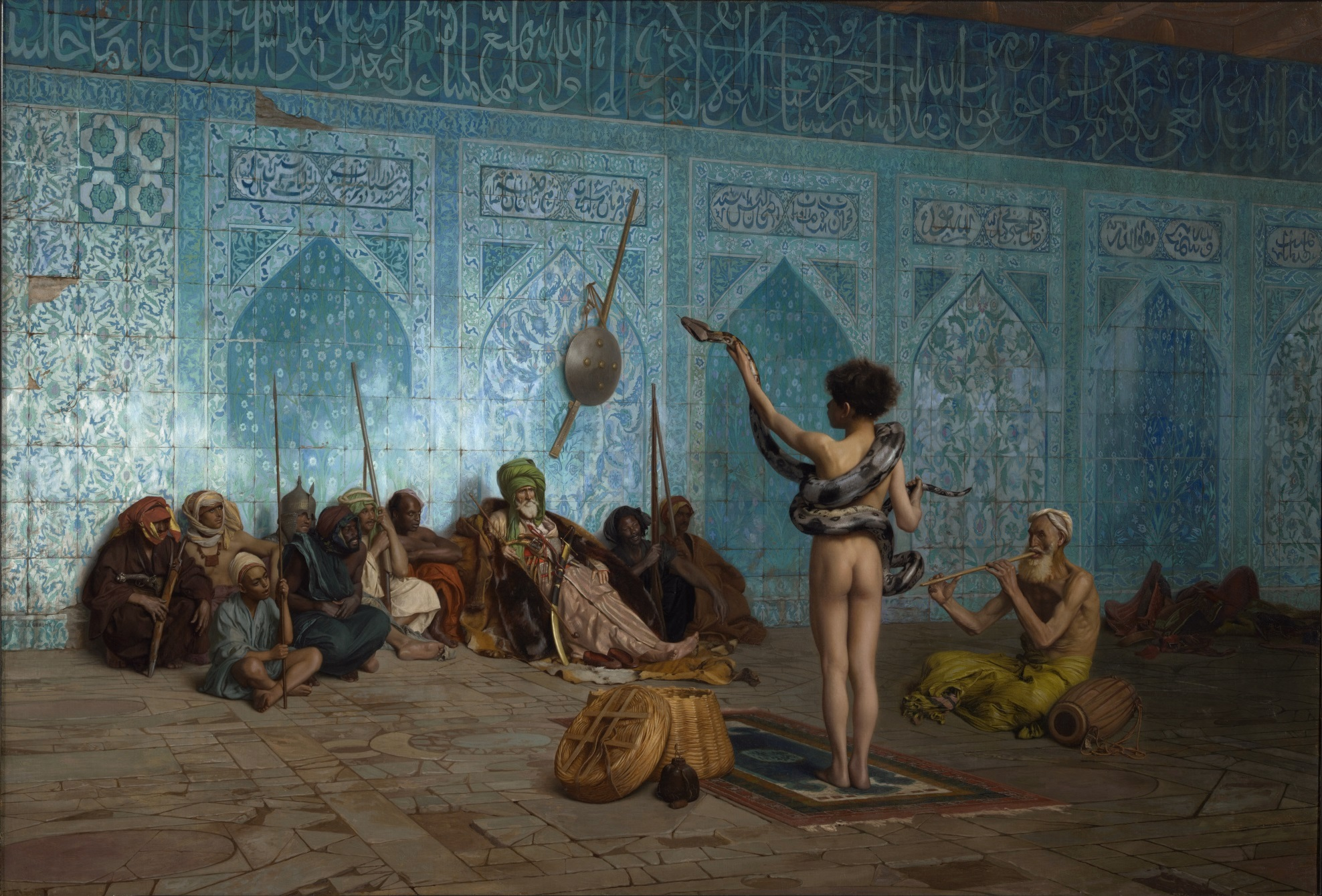"""The Snake Charmer"" is an orientalist 19th century painting by French artist Jean-Léon Gérôme. (Wikimedia)"