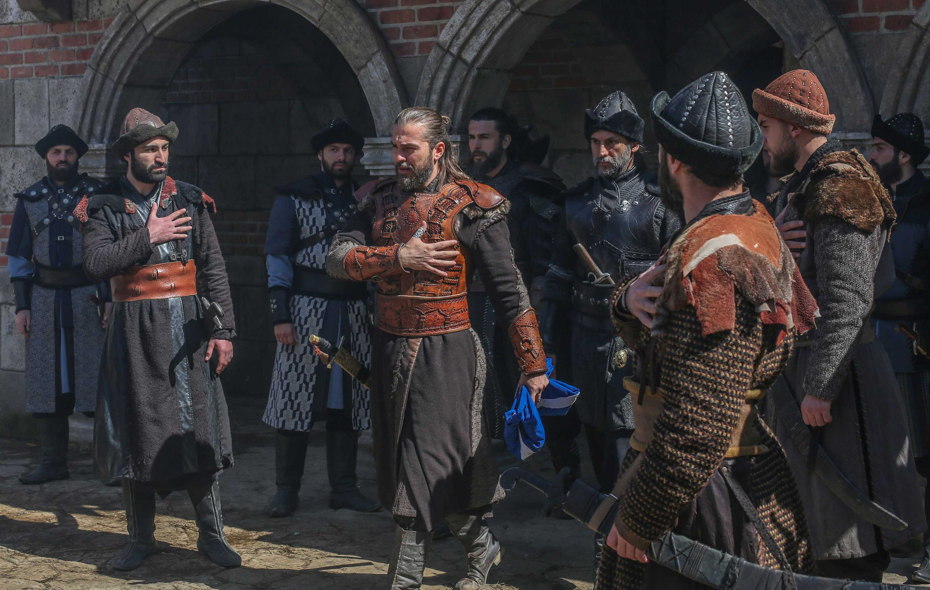 "A scene from Turkish drama ""Resurrection: Ertuğrul"" (TRT 1)"