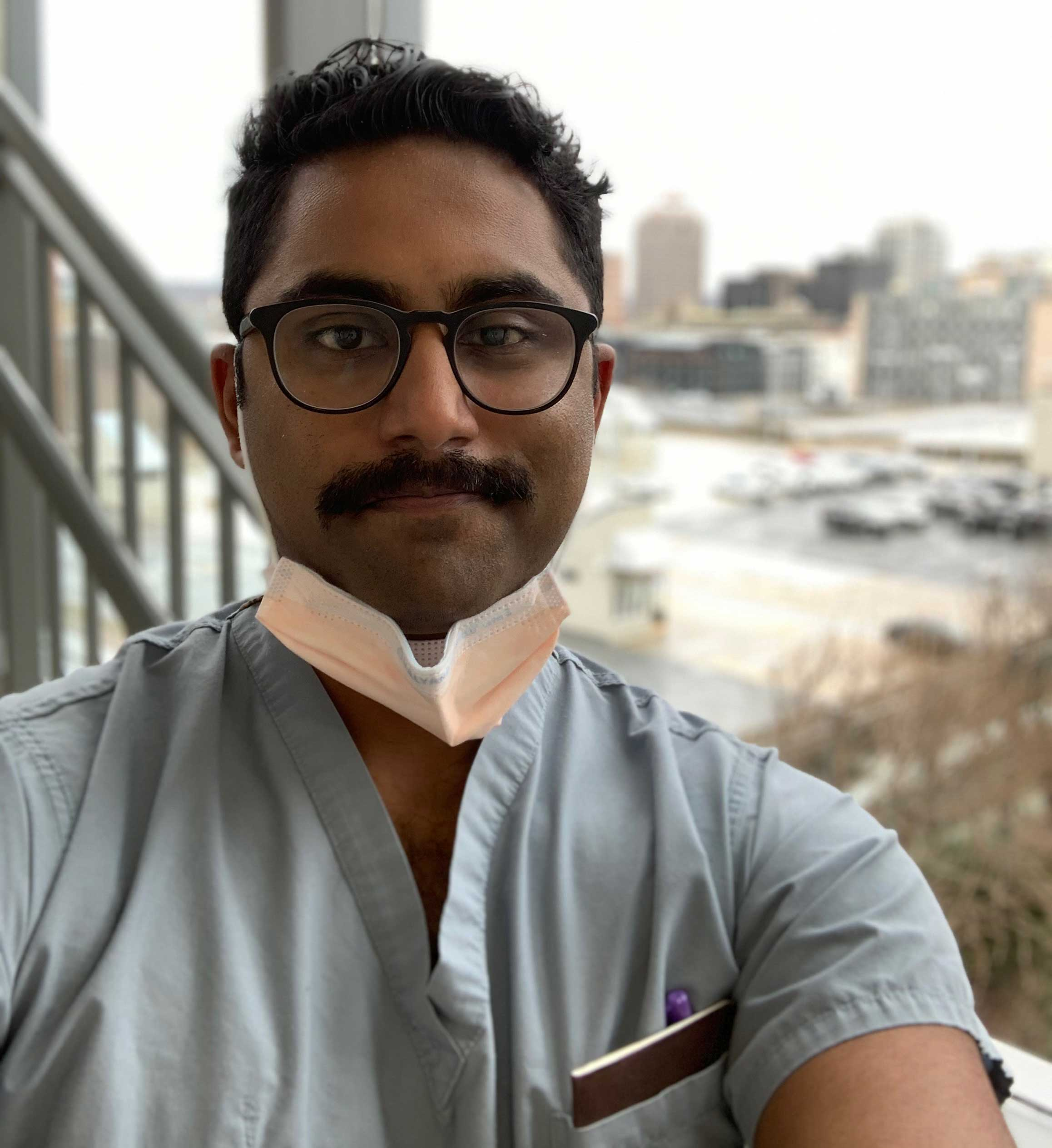 Pranav Reddy is a resident physician in Connecticut. (Pranav Reddy)