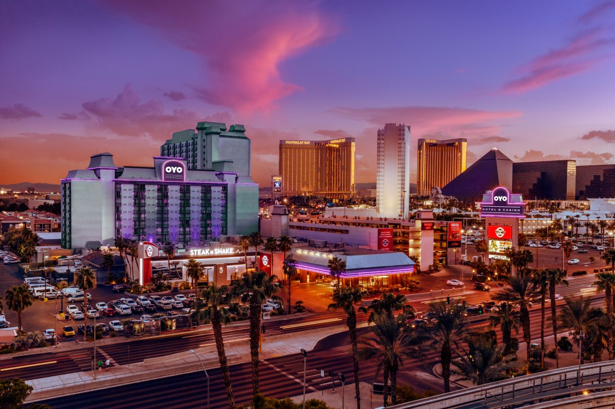 OYO purchased the Hooters Las Vegas building (OYO)