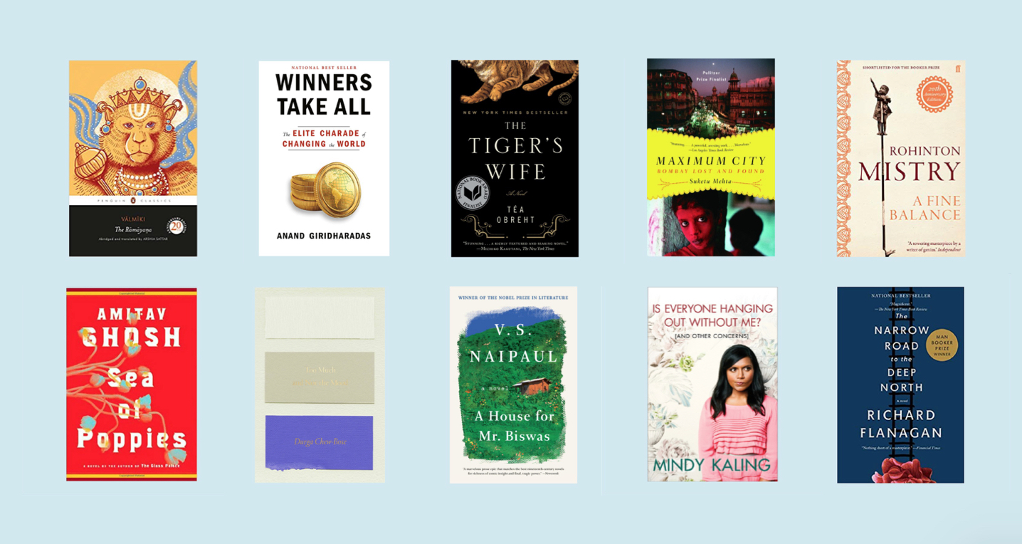 The top books of the 2010s, as read by Snigdha Sur