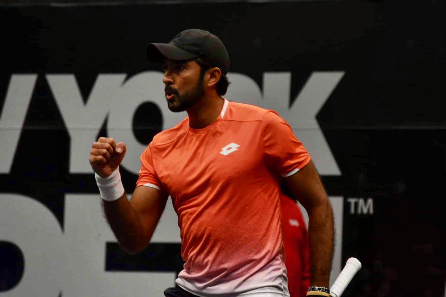 Aisam-ul-Haq Qureshi at the New York Open in Nassau Coliseum on Long Island in February 2019. (John Lupo)