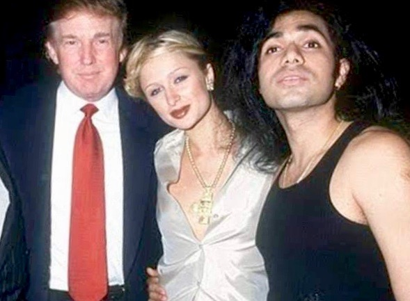 Donald Trump, Paris Hilton, and Anand Jon. (Anand Jon)