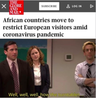 A meme based on The Office