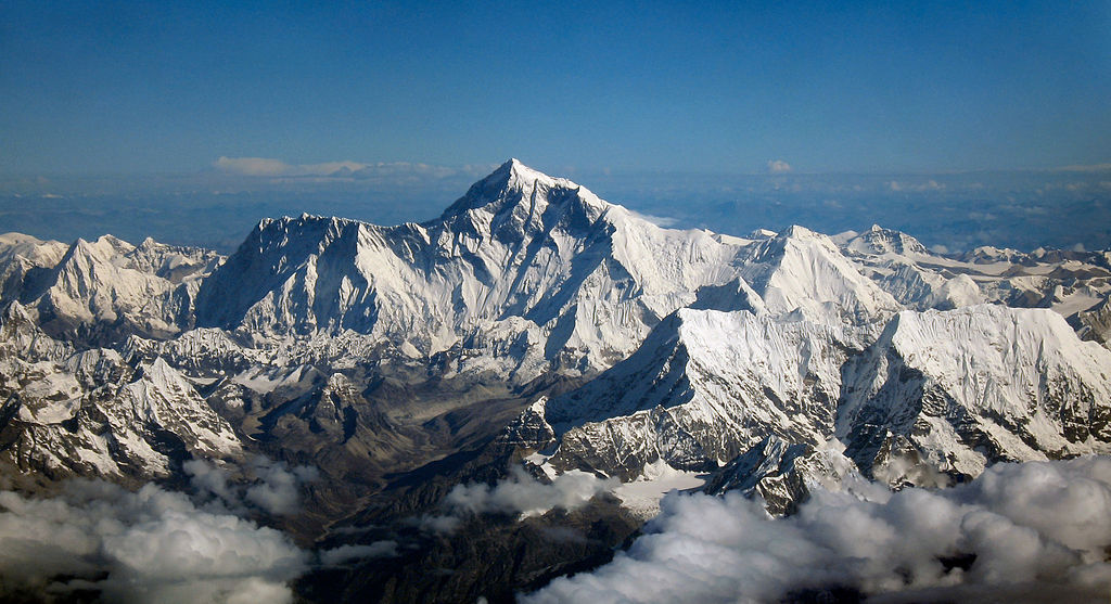 Mount Everest (Wikimedia)