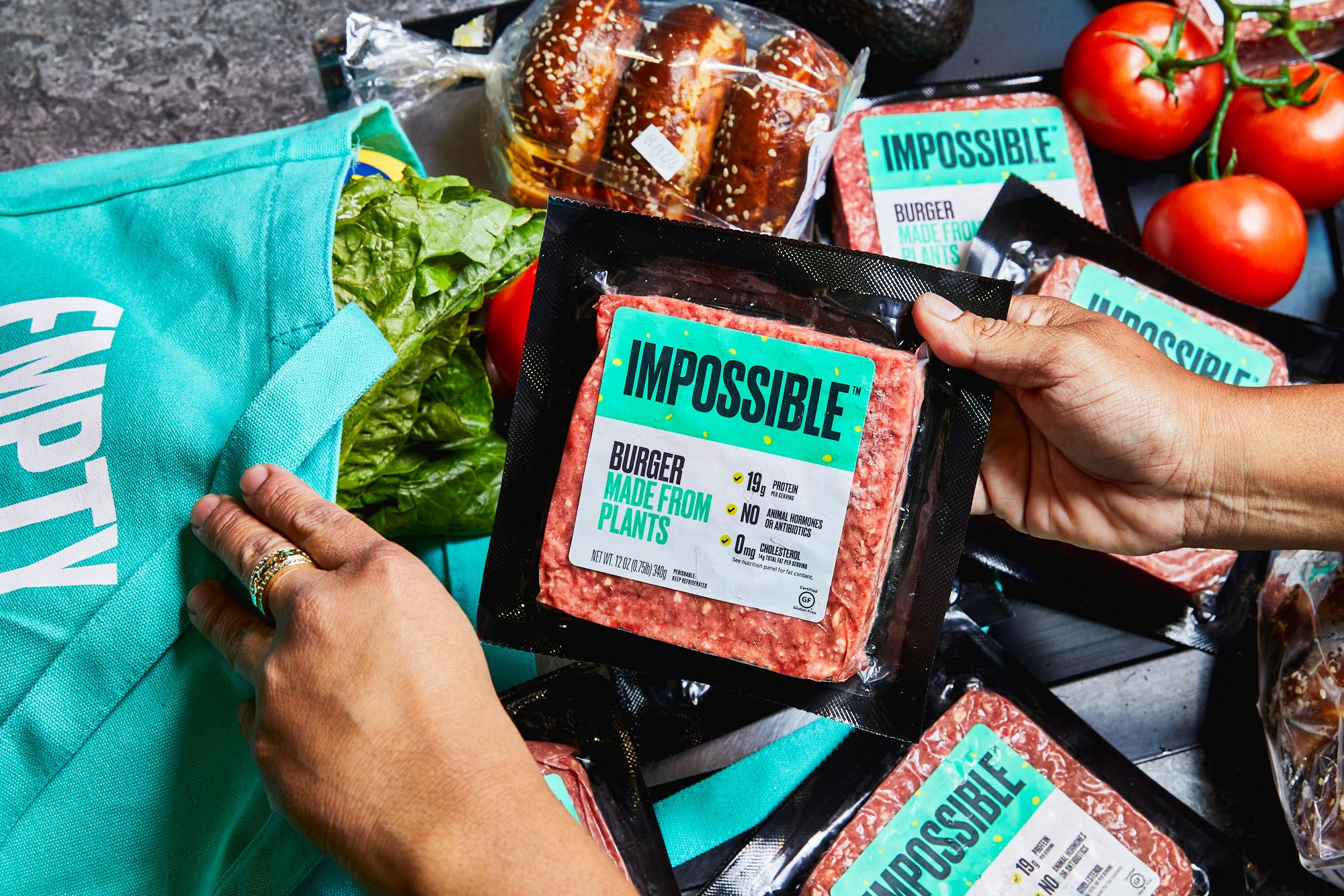 The Impossible Burger (Impossible Foods)