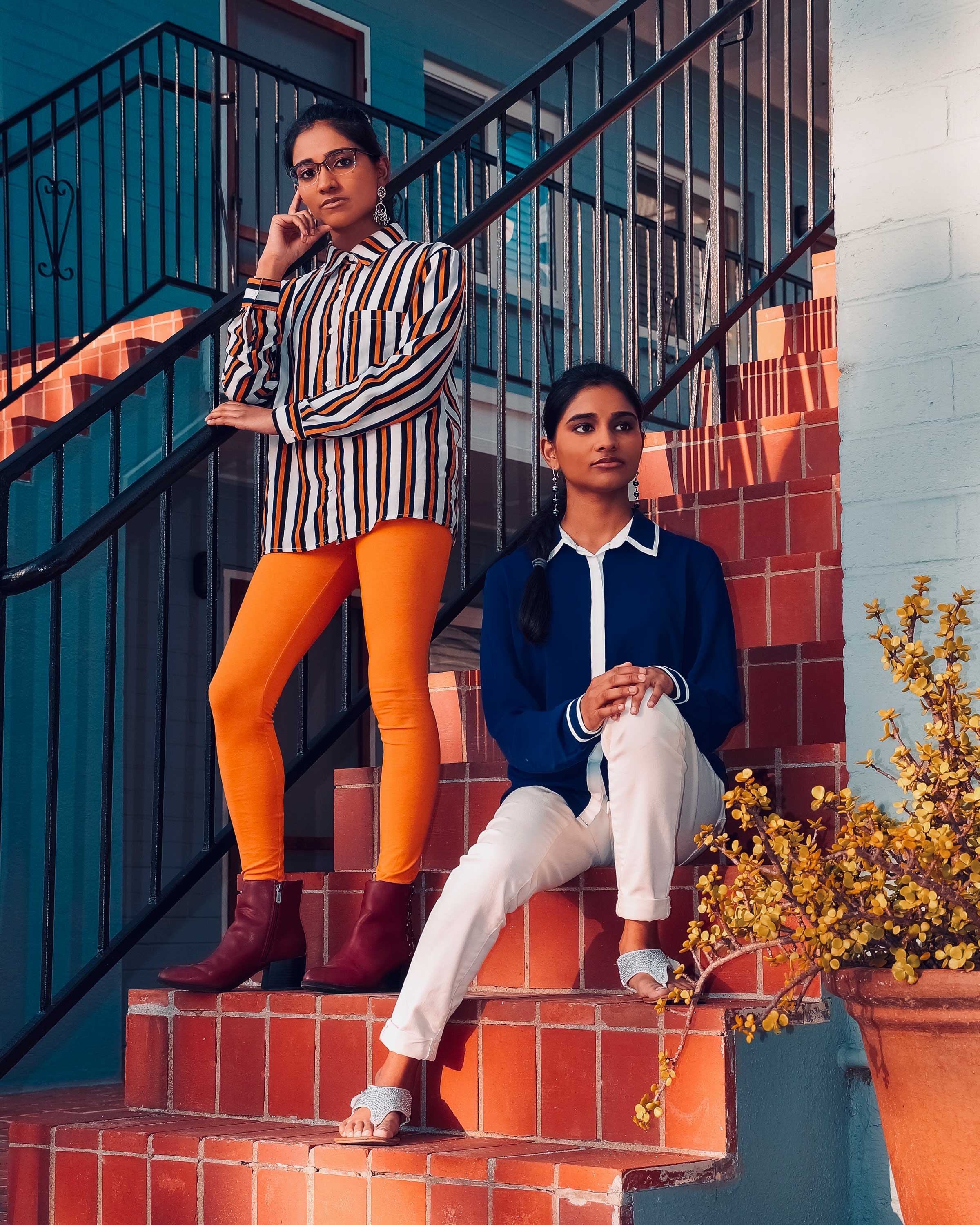 Twin sisters Kiran and Nivi (@kiranandnivi), who sing covers of popular songs, have over 60,000 TikTok followers. (Kiran and Nivi)