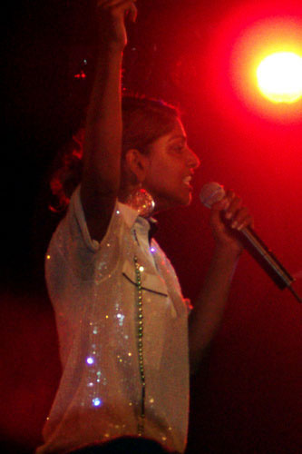 M.I.A. performs in Melbourne, Australia. (bonnie/Flickr)
