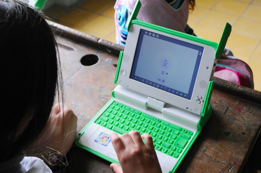 The XO-1. (OLPC)