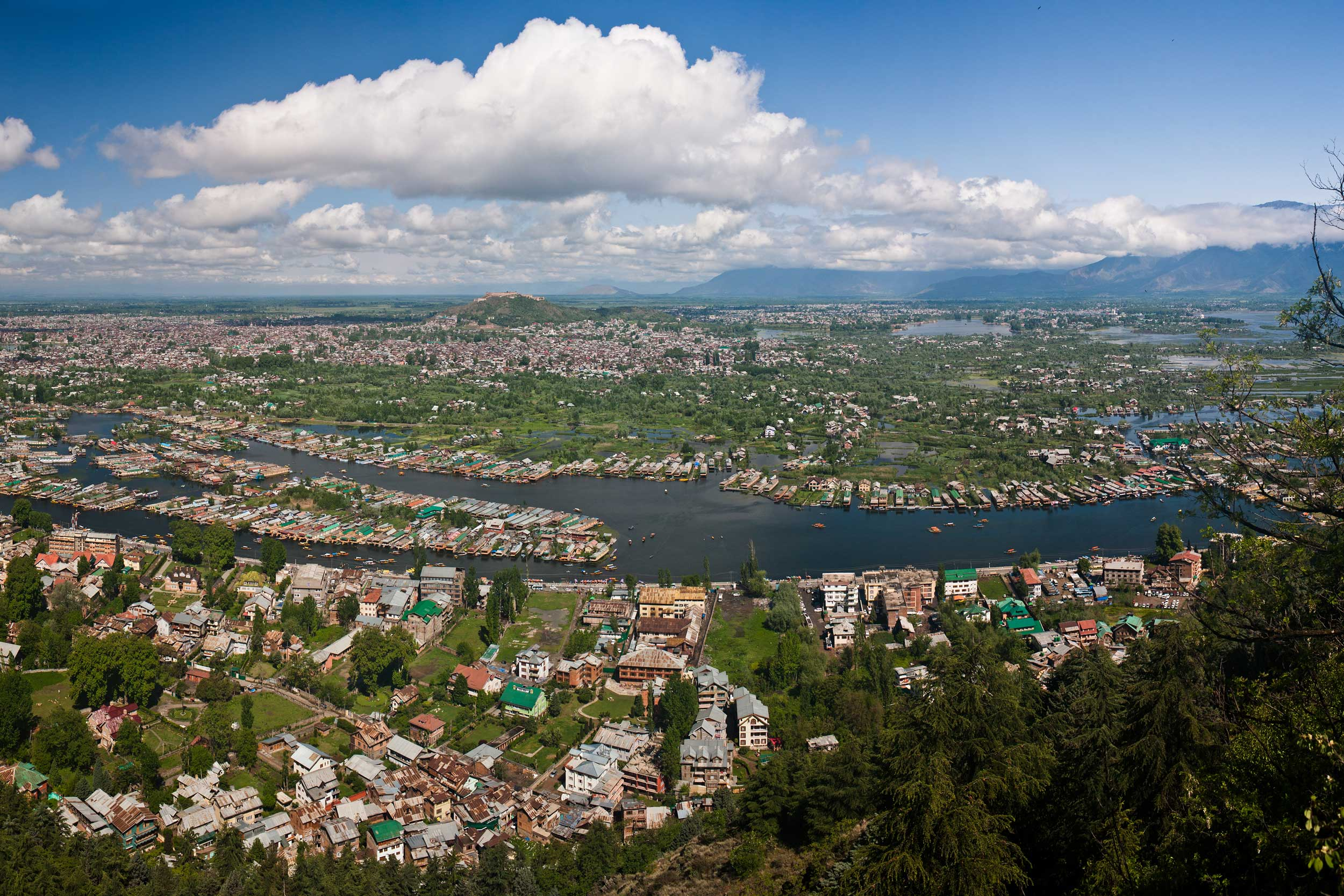 Srinagar, the largest city in Jammu & Kashmir (KennyOMG/Wikimedia)