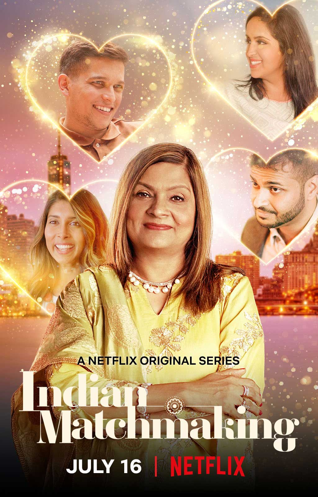 "The first season of ""Indian Matchmaking"" premiered on Netflix on July 16."
