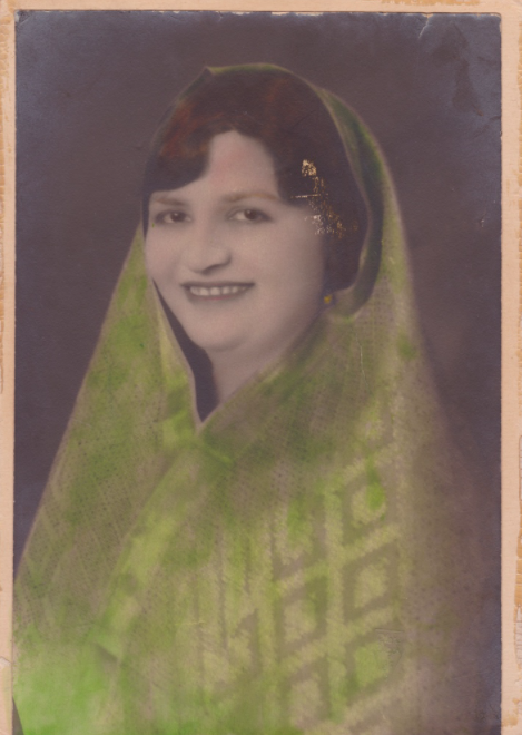 Photograph of Kala Bagai, taken in 1929 at age 36.