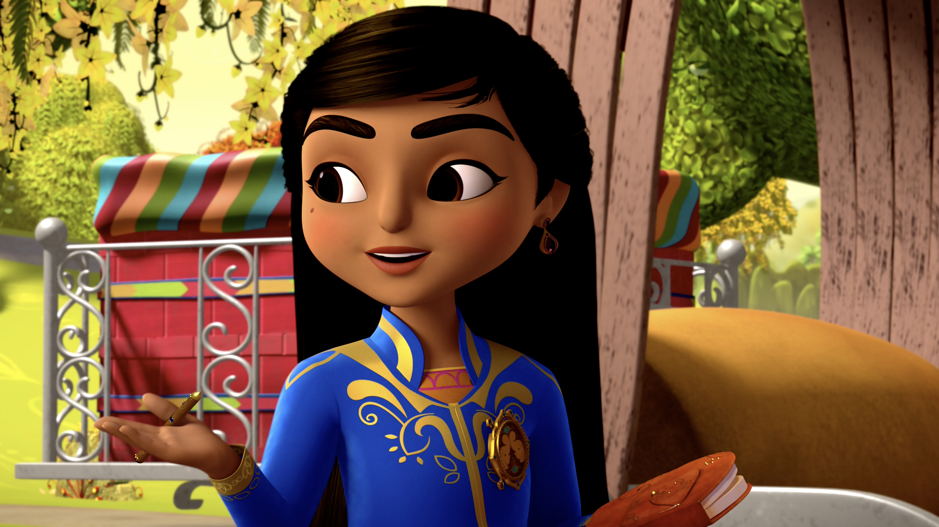 Scene from Mira, Royal Detective (Disney Junior)