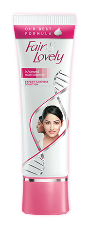 Fair & Lovely tube showing actor Yami Gautam. (Hindustan Unilever)