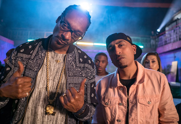 Snoop Dogg with Indian rapper Dr. Zeus. (Snoop Dogg)