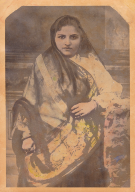 Photograph of Kala Bagai, taken in 1915 at age 22.