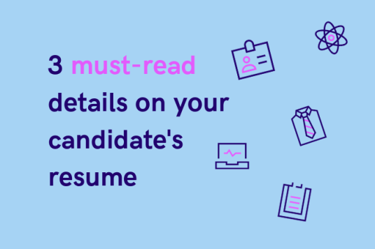 how to read a resume