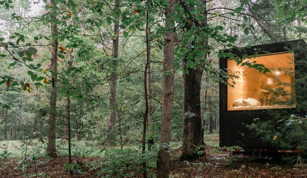 Brilliant Getaway Modern Cabin Rentals Vacation Rentals Download Free Architecture Designs Rallybritishbridgeorg
