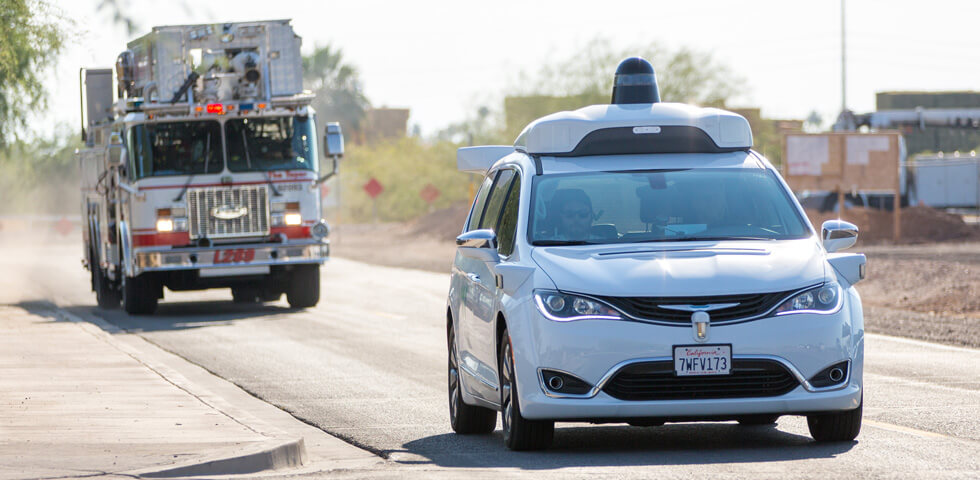 hero self-driving first-responders