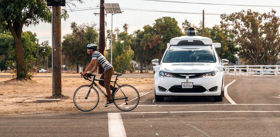 hero self-driving cyclists