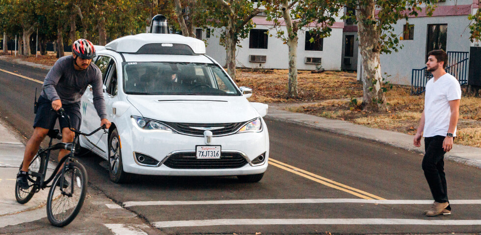 hero self-driving pedestrians
