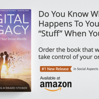 New Book! Digital Legacy: Take Control of Your Digital Afterlife