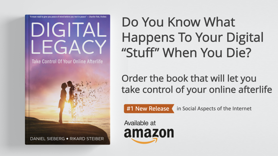 Digital Legacy Book Pre Order