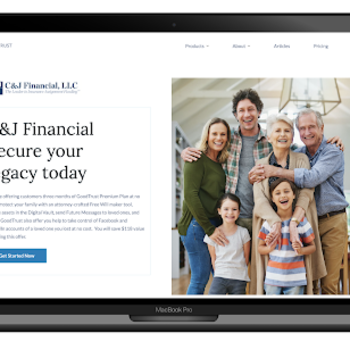 GoodTrust, C&J Financial Partner To Empower Grieving Families