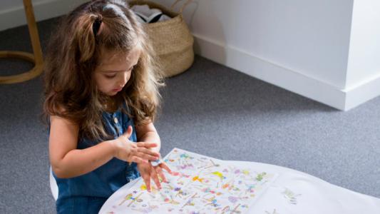 Teaching your toddler to write