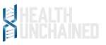 Health Unchained logo in white