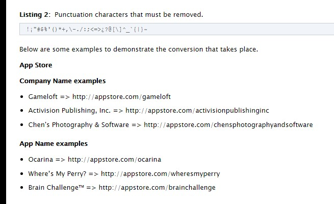 ASO AppStoreOptimization Apple