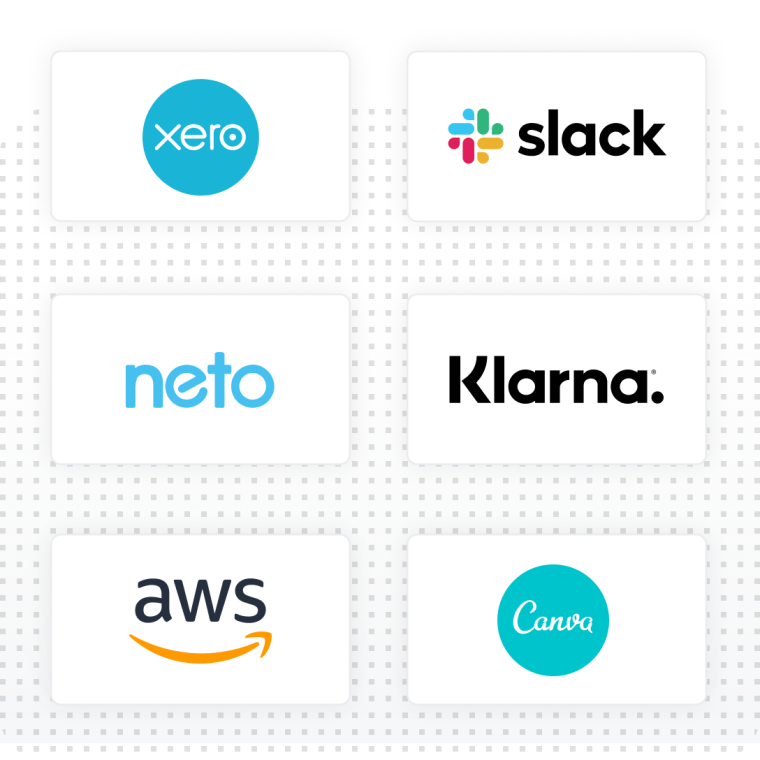 partner offers with AWS, LinkedIn, Klarna, and Dear Systems