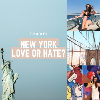 New York travel with me