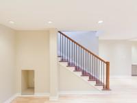 Steps to basement