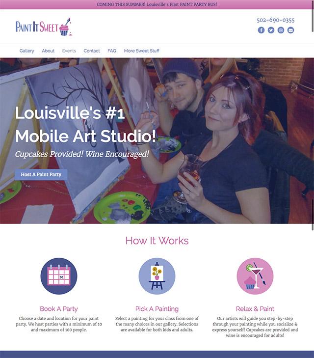 paint it sweet homepage