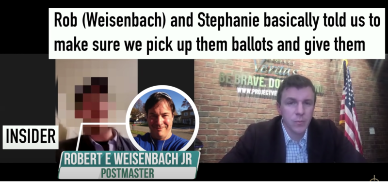 weisnenbach1 WATCH: Project Veritas Journalist Asks USPS Postmaster Rob Weisenbach About Alleged Ballot Back-Dating Scheme in Erie, Pennsylvania Top Stories U.S. [your]NEWS