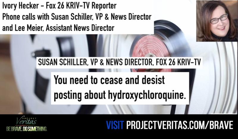 "Elle3 BREAKING: Fox 26 Reporter Releases tape of 'Corruption,' 'Censorship.' Fox Corp Boss told Hecker ""cease & desist"""