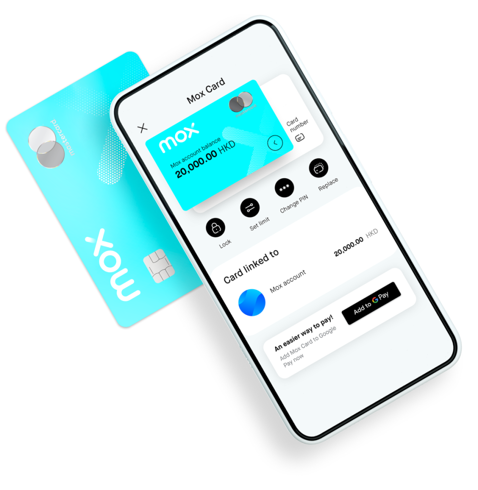 3 Steps to use Google Pay with Mox