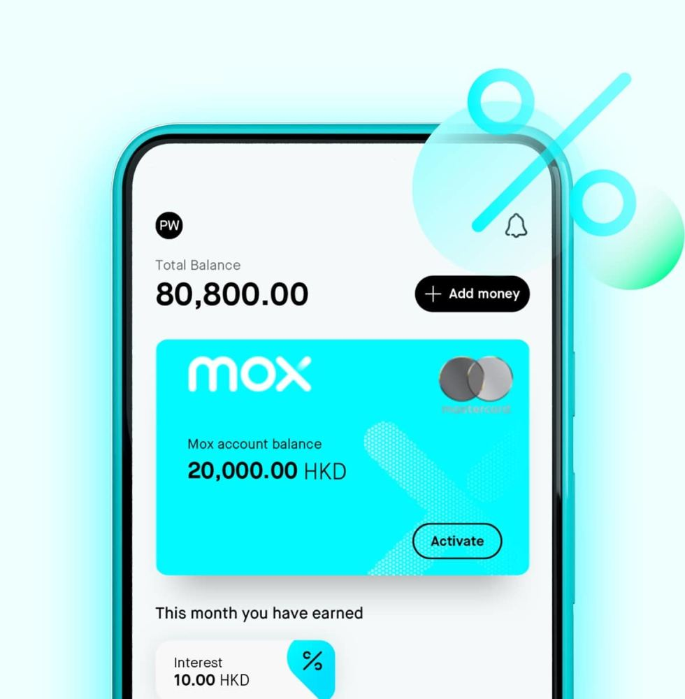 Earn interest on all of your Mox account and Goals, make your Goals come true one by one