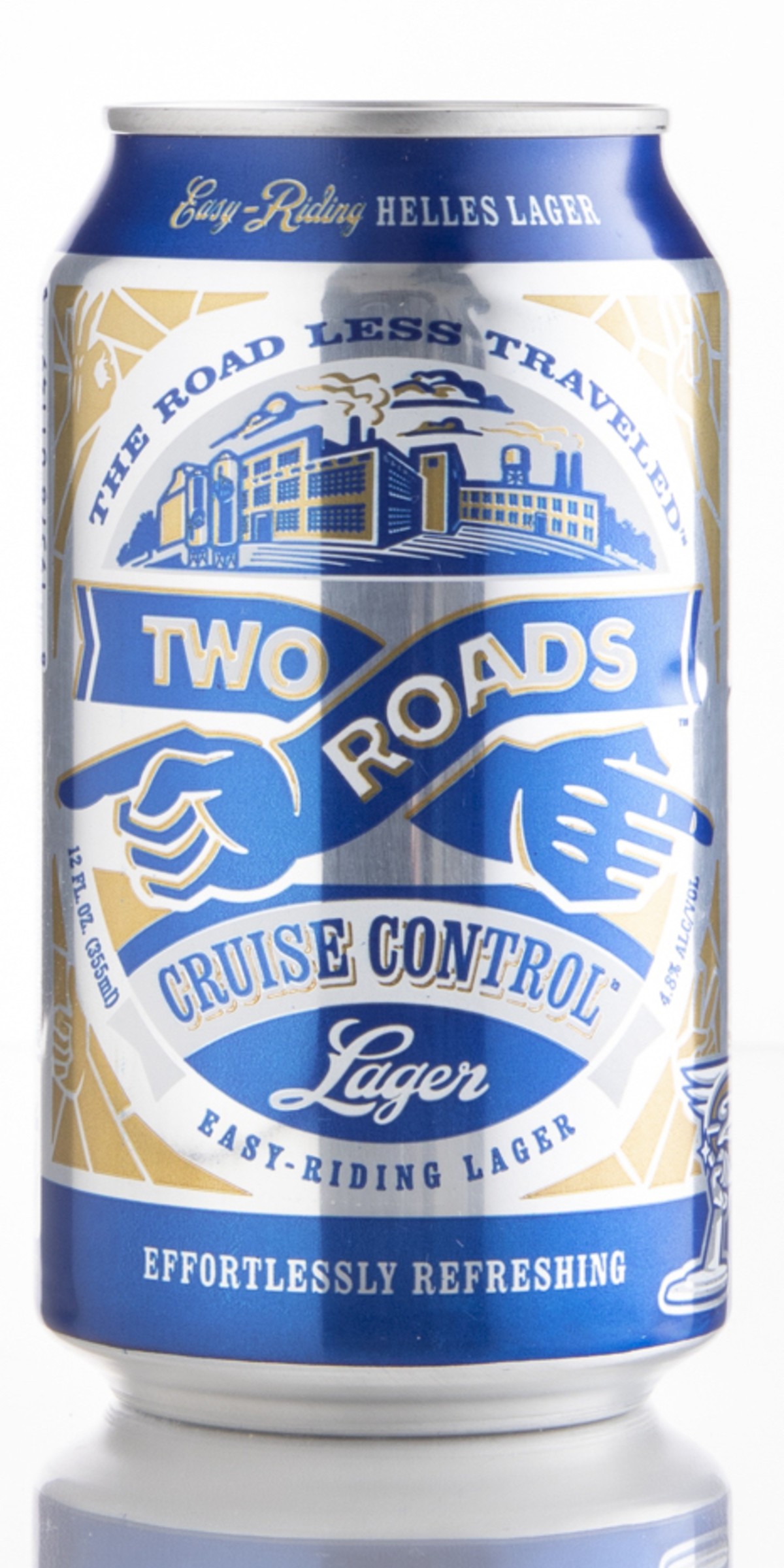 Review: Two Roads Brewing Co. Cruise Control Helles Lager (2019) | Craft  Beer & Brewing
